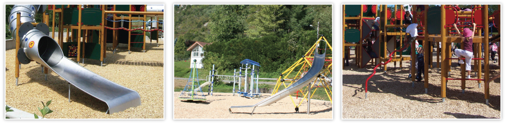 LUDOSOL impact absorbing playground surfaces