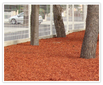 COPEO Copper eco-friendly coloured mulch