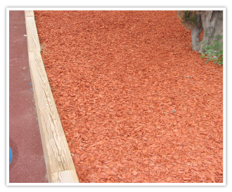 COPEO Copper long lasting coloured mulch