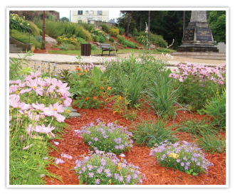 COPEO Copper protective coloured mulch