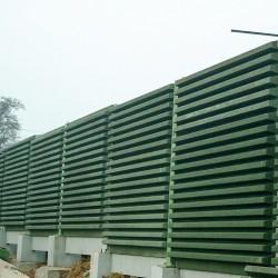 Granulats de bois stabilisé pour mur anti-bruit