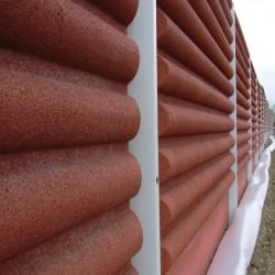 Mur anti-bruit de toutes sortes de modèles