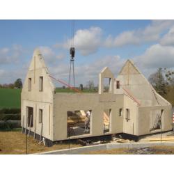 Granulats pour la construction modulaire