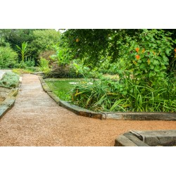 PERMEO – Revêtement drainant – allée de jardin
