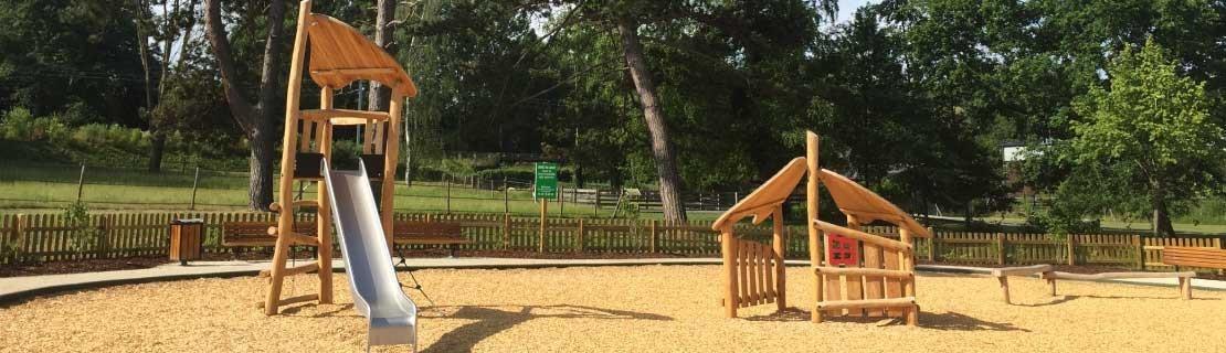Cushioning playground surfaces