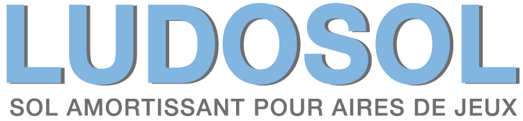 logo ludosol : sol amortissant pour aires de jeux