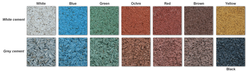 colour chart - PERMEO porous surfacing