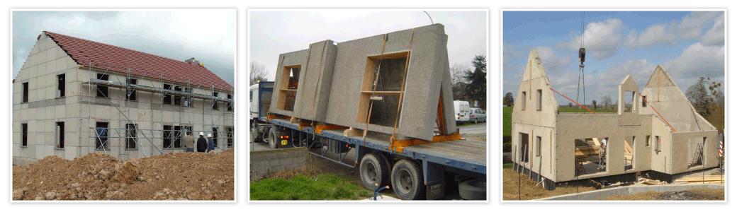 Construction de logements préfabriqués