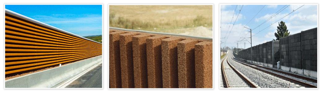 Construction de murs acoustiques - antibruit